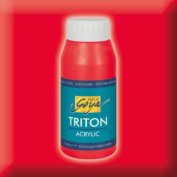 SOLO GOYA Triton Acrylic 750ml kirschrot