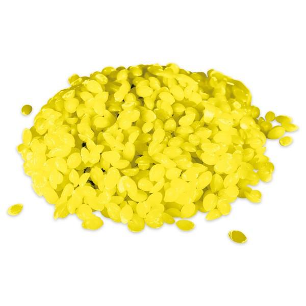 Wachsfarbe 100g Beutel gelb