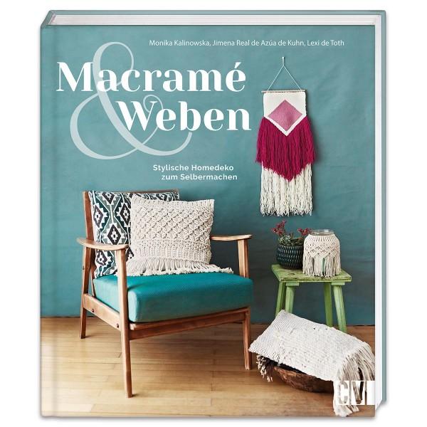 Buch - Macramè und Weben 112 Seiten, 22x26cm, Hardcover