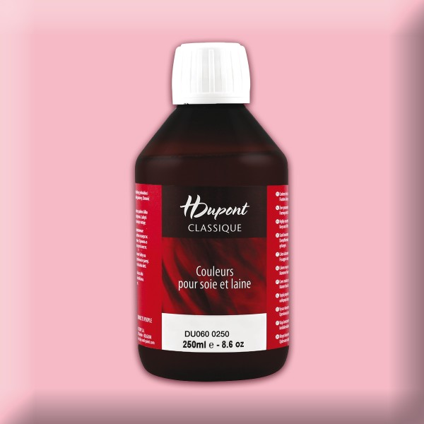 H.Dupont Classique 250ml Eglantine/heckenrose Seidenmalfarbe, Dampffixierung
