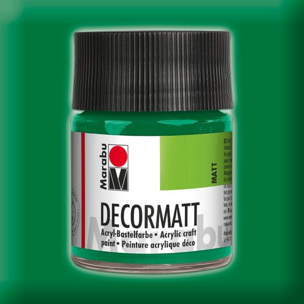 Decorlack Acryl matt 50ml saftgrün