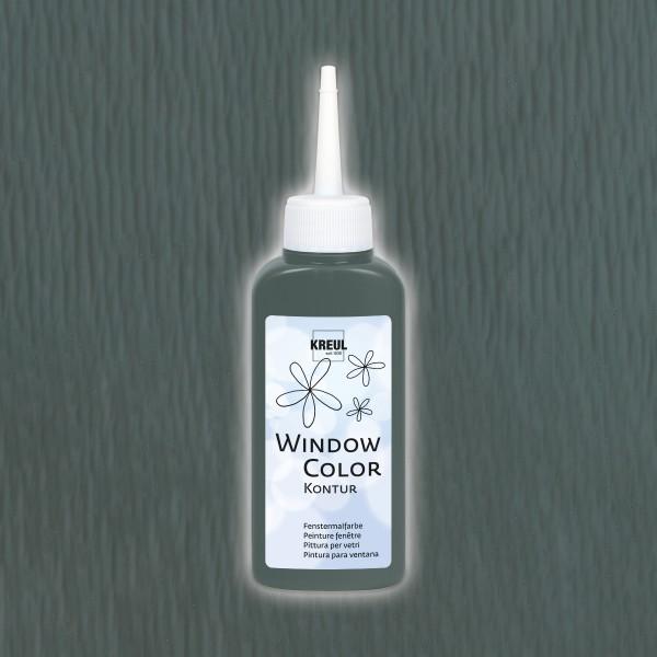 KREUL Window Color Konturenfarben 80ml grau