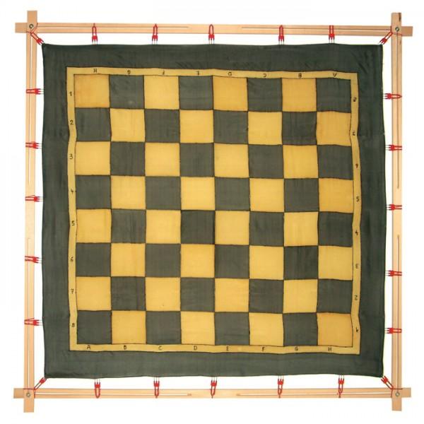 Seidenmalrahmen Holz 100x100cm für Tücher bis 95x95cm