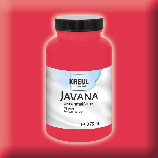 JAVANA Seidenmalfarbe 275ml cherry