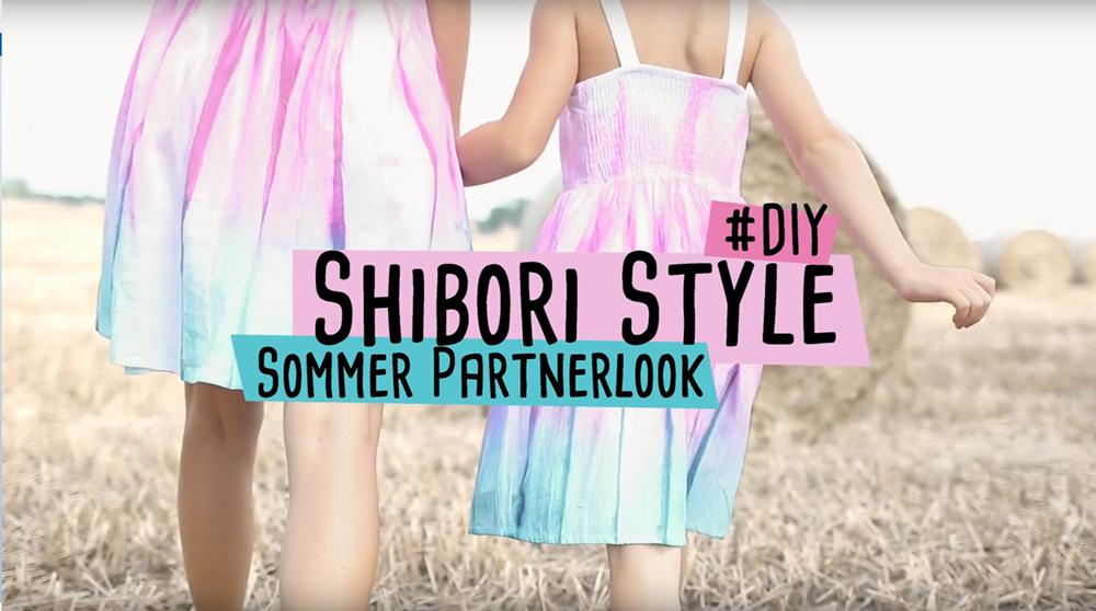 "Video ""Shibori-Style von Delari mit Marabu Fashion- Spray"""