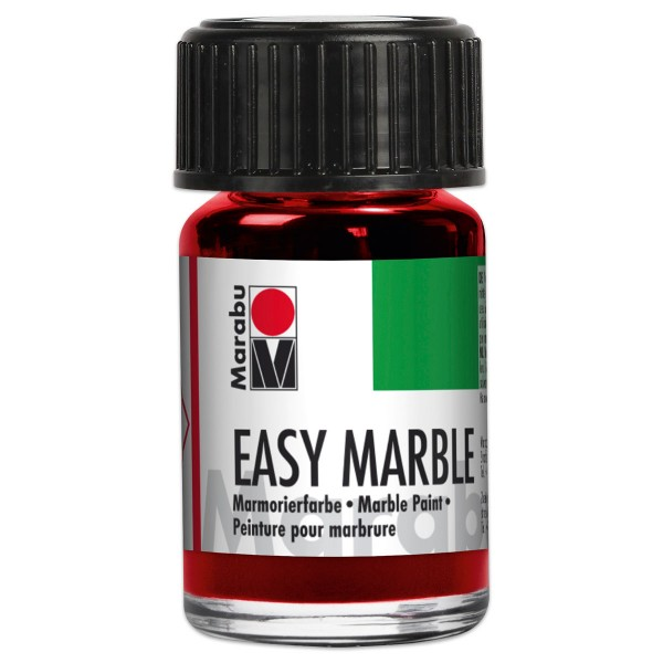 Easy Marble 15ml rubinrot Marmorierfarbe