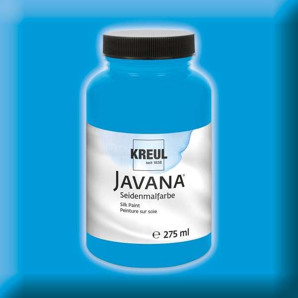 Javana Seidenmalfarbe 275ml blau