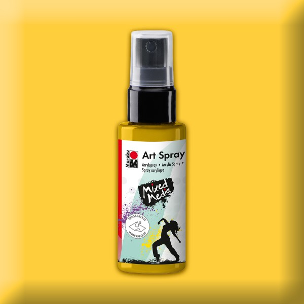 Art Spray Acrylspray 50ml sonnengelb