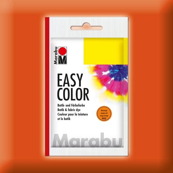 Marabu EasyColor Batik-/Textilfarbe 25g rotorange