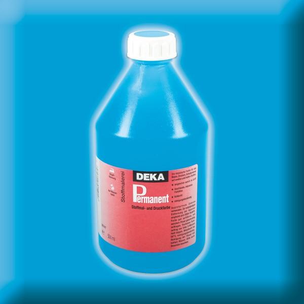 Deka-Permanent Stoffmalfarbe 500ml hellblau