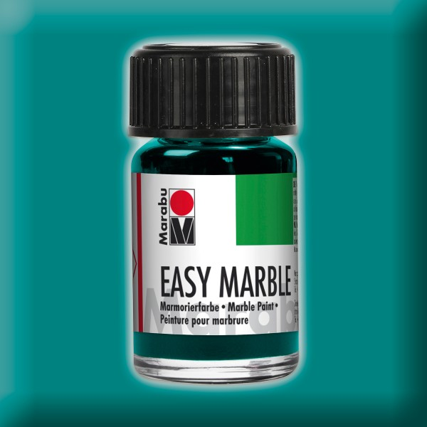 Easy Marble 15ml türkisblau Marmorierfarbe