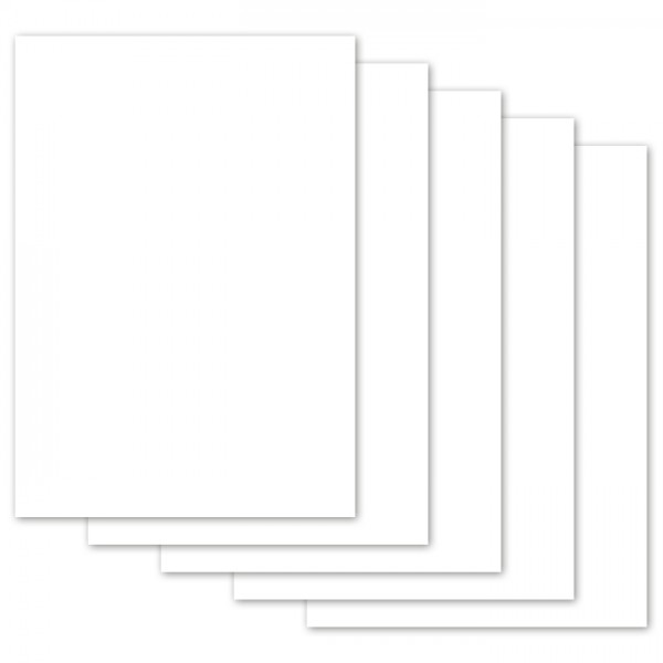 Plakatkarton 380g/m² 48x68cm 10 Bl. weiß