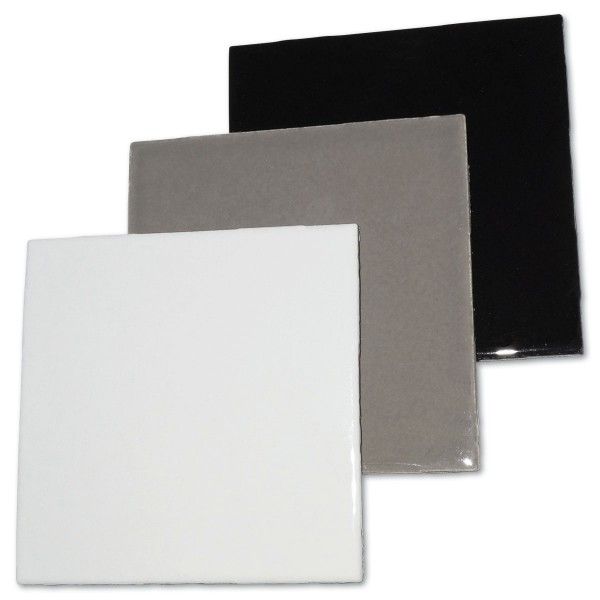 Fliesen 100x100x4mm 3er-Set grau-mix