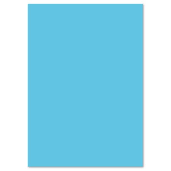Tonpapier 130g/m² DIN A4 100 Bl. himmelblau