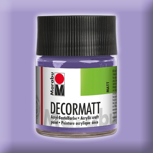 Decorlack Acryl matt 50ml lavendel