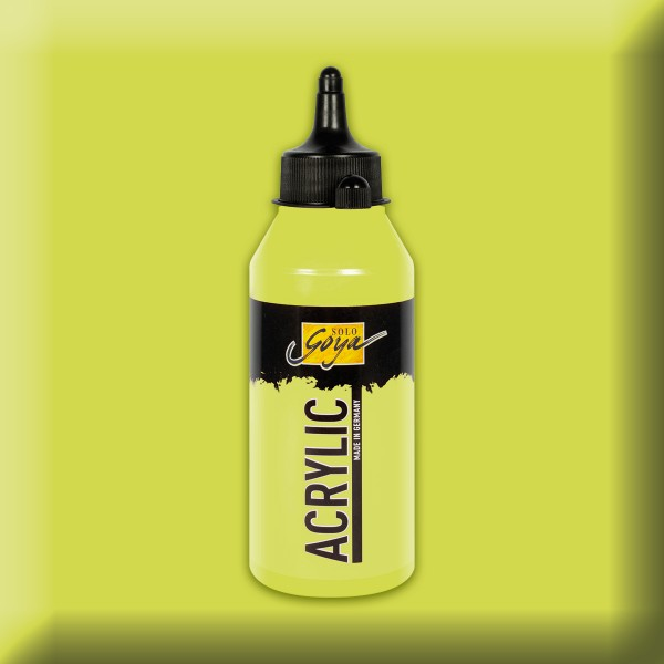 SOLO GOYA Acrylic 250ml gelbgrün Acrylfarbe
