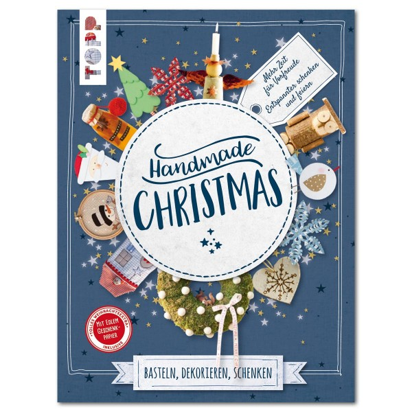 Buch - Handmade Christmas 160 Seiten, 21,5x28,5cm, Hardcover