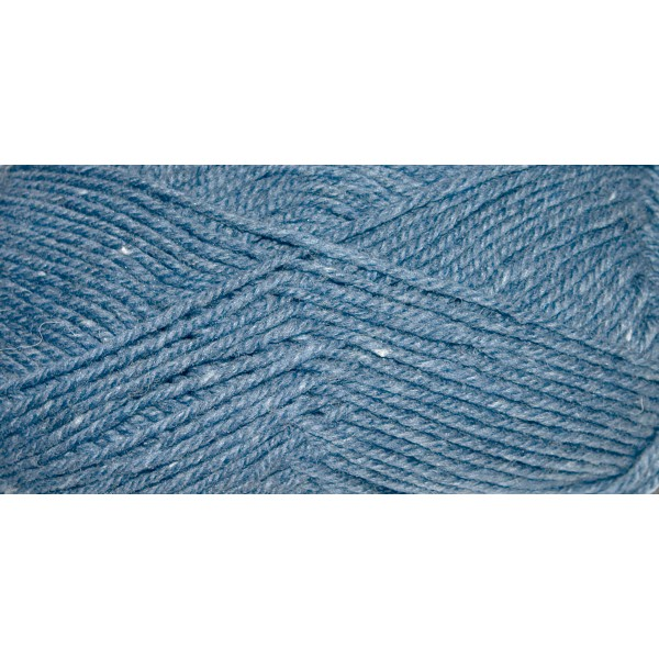 Hauswolle Rustikal ca. 100g jeans 60% Wolle, 40% Polyacryl