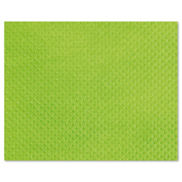 Stoff-Imitat 70g/m² Meterware limefarben 100% Polypropylen, 125cm breit