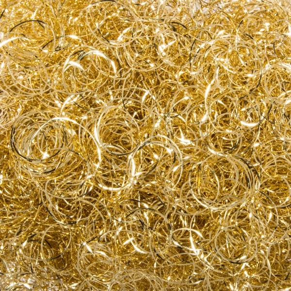 Engelshaar Metallfaser 20g goldfarben