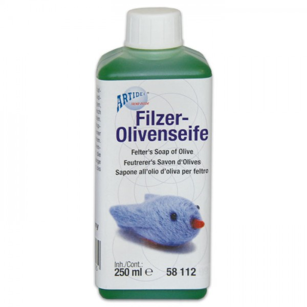 Filzer-Olivenseife 250ml