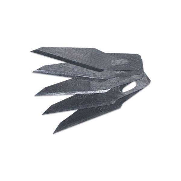 Ersatzklingen für Präzisionsmesser Metall 10 St. passend für Art.-Nr. 58700017