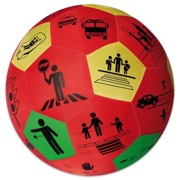 Hands-On Lernspielball Ø 35cm Verkehrserziehung inkl. Mundstück, ab 6 Jahren