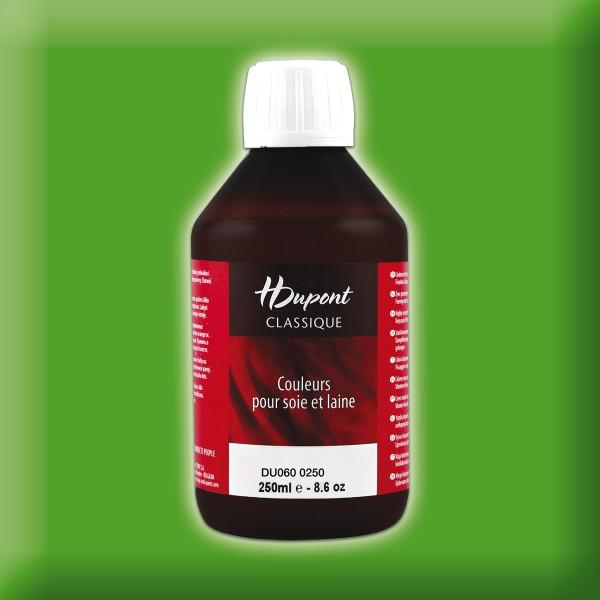 H.Dupont Classique 250ml Vert Feuillage/blattgrün Seidenmalfarbe, Dampffixierung
