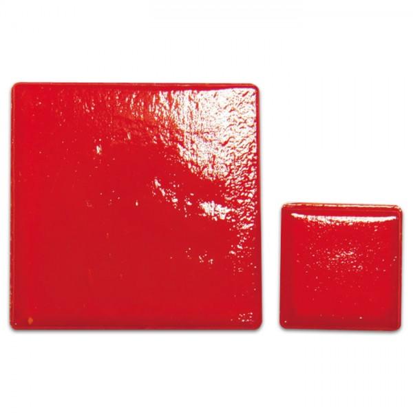 Glasmosaik Joy 10x10x4mm 200g glutrot ca. 290 Steine