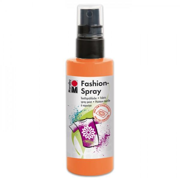 Marabu Fashion-Spray 100ml mandarin Textilsprühfarbe für helle Stoffe
