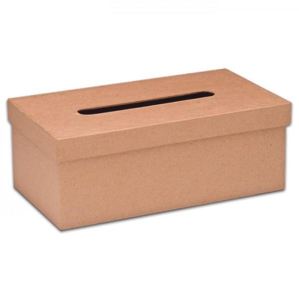 Tissue-Box Pappe 25x14x9cm