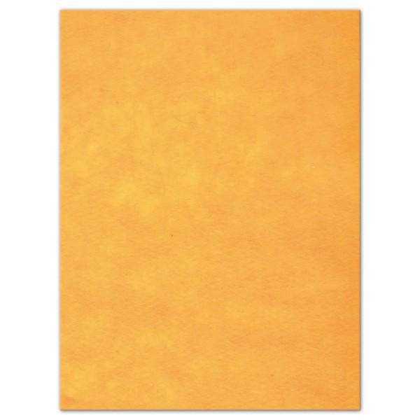 Wollfilz-Platte 4mm 30x40cm gelb 70% Polyester, 30% Wolle