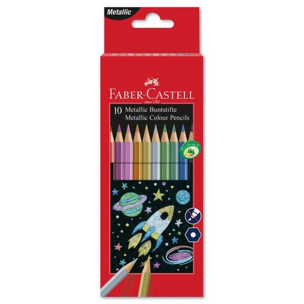 Buntstifte Metallic Mine 2,8mm 10 Farbstifte/Farben
