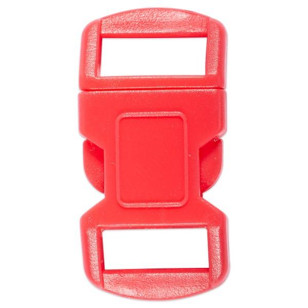 Steckverschluss Kunststoff 15x30mm rot