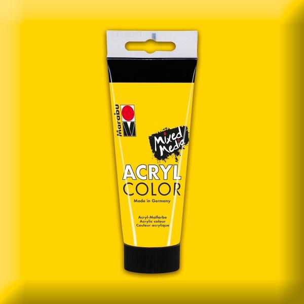Marabu Acryl Color 100ml gelb