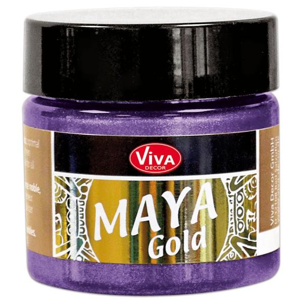 Maya-Gold Dekorfarbe flüssig 45ml flieder