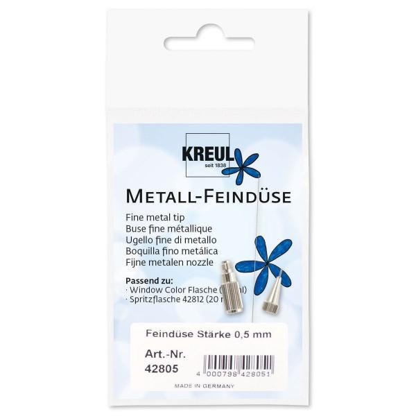 Metallfeindüse Ø 0,5mm