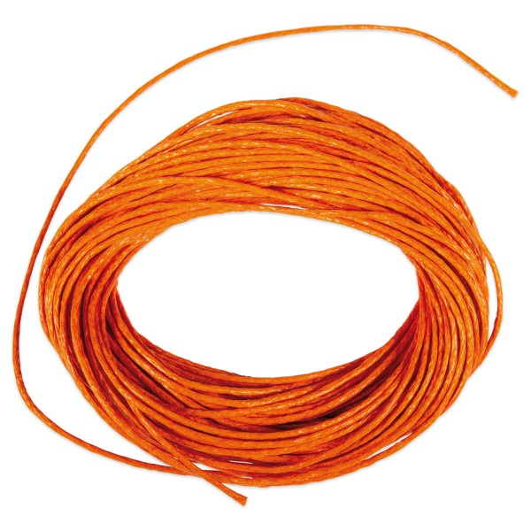 Kordel gewachst 1mm 10m orange 50% Baumwolle, 50% Polyester