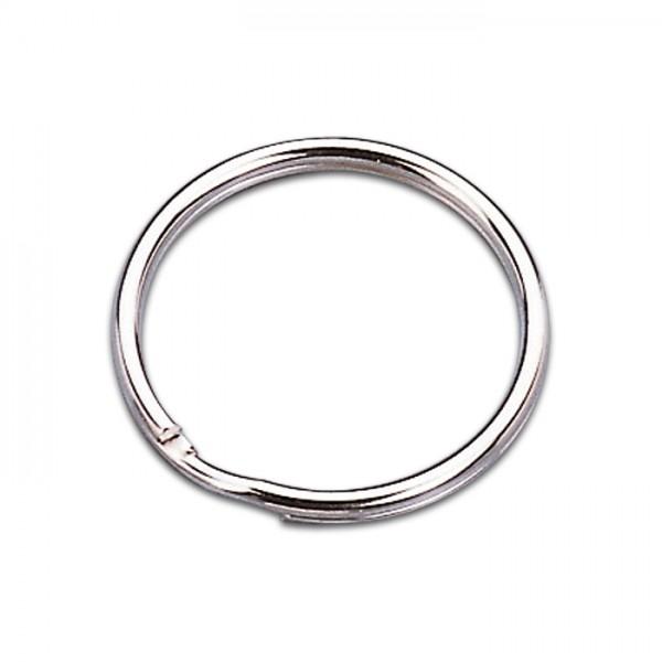 Schlüsselringe Metall Ø 25mm 100 St. platinfarben
