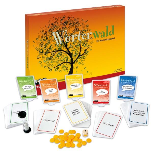 Spiel - Wörterwald für 2-8 Spieler ab 6 Jahren