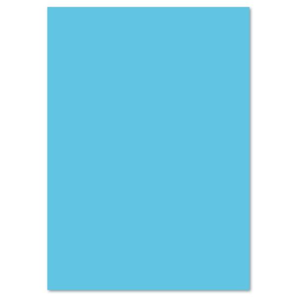 Tonkarton 220g/m² 50x70cm 25 Bl. himmelblau