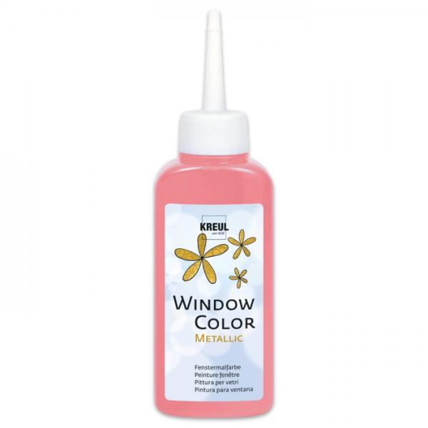 Kreul Window Color 80ml metallic-rosa