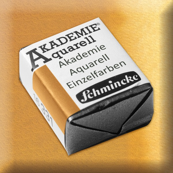 Akademie Aquarell 1,6ml lichter ocker ½ Näpfchen