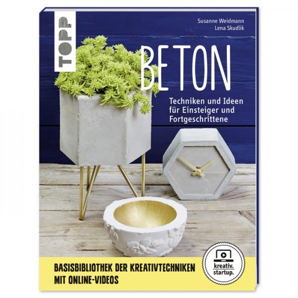 Buch - Beton: Techniken und Ideen für Einsteiger & Fortgeschrittene 64 Seiten, 17x22cm, Softcover