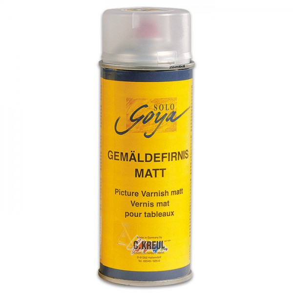Gemäldefirnis Spray 400ml matt