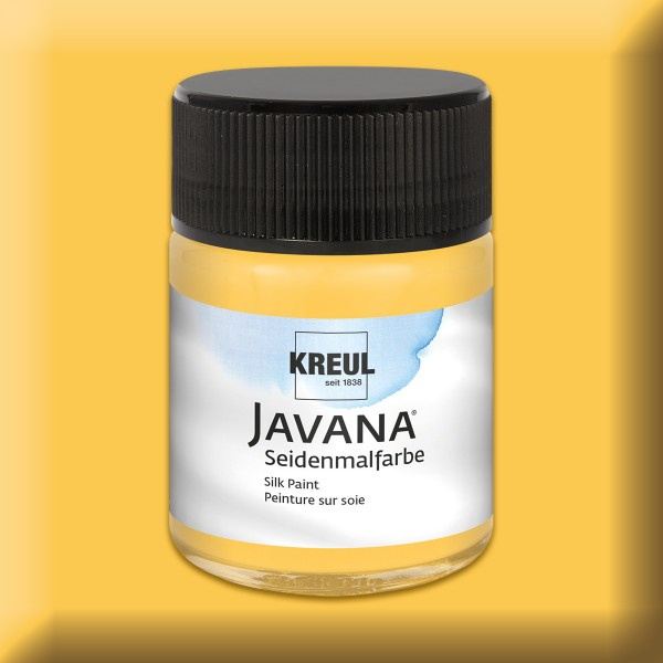 JAVANA Seidenmalfarbe 50ml goldgelb