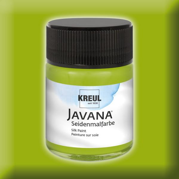 Javana Seidenmalfarbe 50ml maigrün