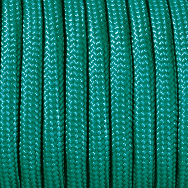Paracord-Garn rund 4mm 4m mintgrün Makramee-Knüpfgarn, 60% Polypropylen, 40% Polyester
