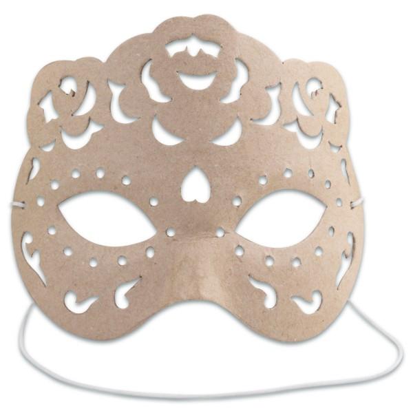 Maske Rita Pappe 16x12,5x6cm von Décopatch