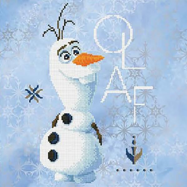 Diamond Dotz Disney Frozen II Olaf 40x40cm